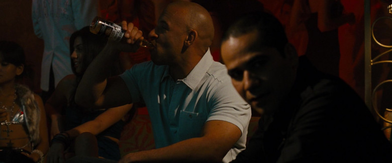 Corona Extra Beer of Vin Diesel as Dominic Toretto in Fast & Furious (2)