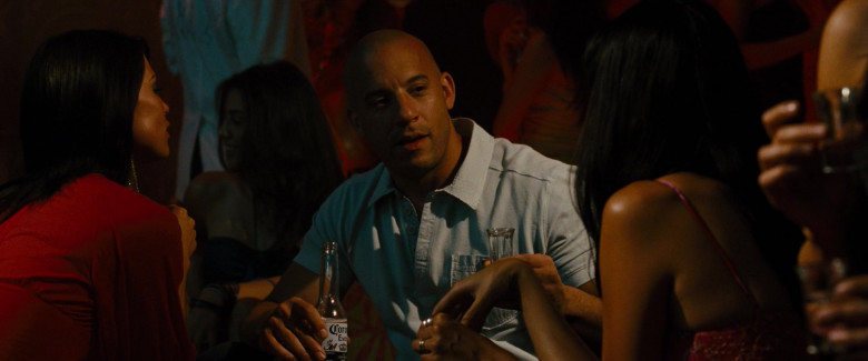 Corona Extra Beer of Vin Diesel as Dominic Toretto in Fast & Furious (4)