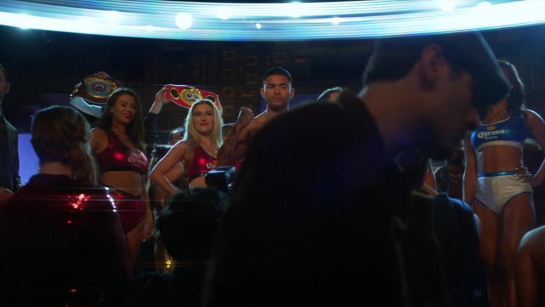 Corona Extra Women's Bras in L.A.'s Finest S02E07 (2)