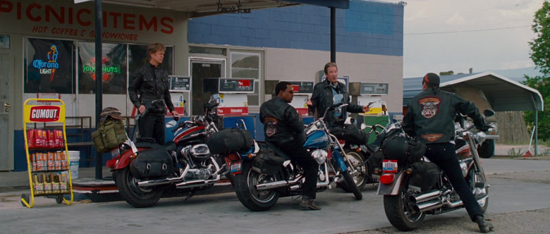 Corona Light Sign and Gumout Products in Wild Hogs (2)