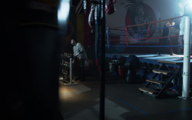 Coronel Boxing Club LA in L.A.'s Finest S02E09 (2)