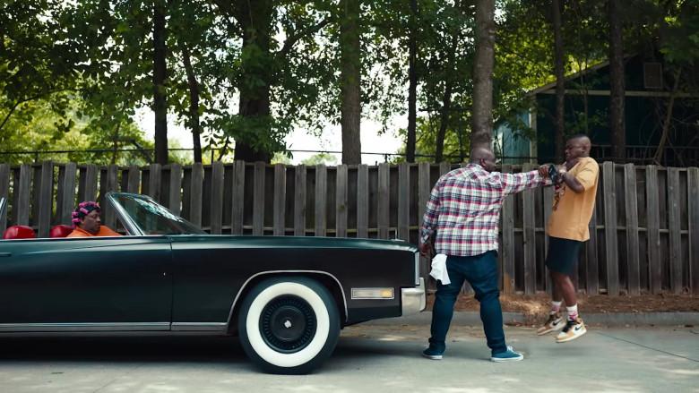 DaBaby Wears Air Jordan 1 Nike High Top Sneakers in Pick Up Music Video (2)