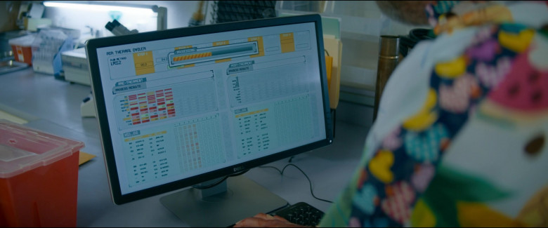 Dell Computer Monitor Used by Rainn Wilson as Michael Stearns in Utopia S01E07 TV Show (1)