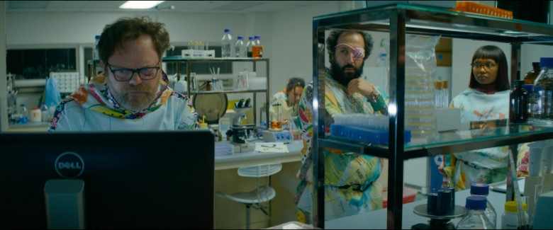 Dell Computer Monitor Used by Rainn Wilson as Michael Stearns in Utopia S01E07 TV Show (2)