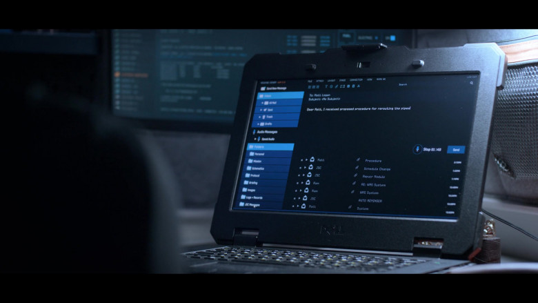 Dell Laptop of Mark Ivanir as Misha in Away S01E07 (1)