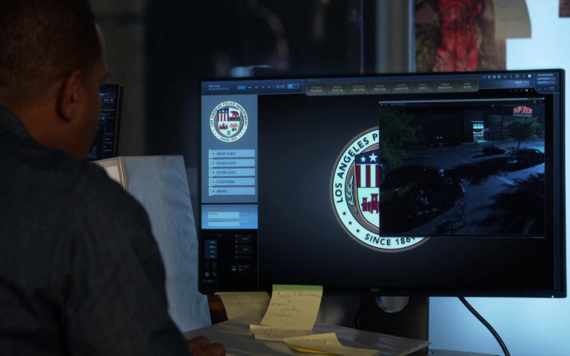 Dell Monitor Used by Duane Martin as Ben Baines in L.A.'s Finest S02E08 (1)