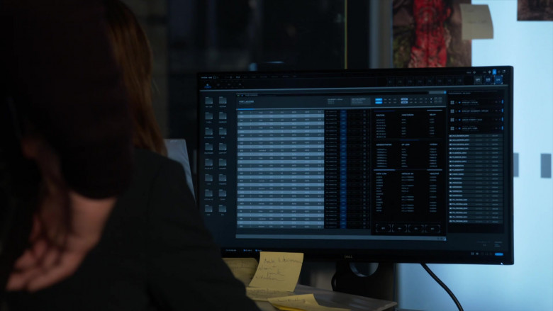 Dell Monitor Used by Jessica Alba as Nancy McKenna in L.A.'s Finest S02E08 (1)