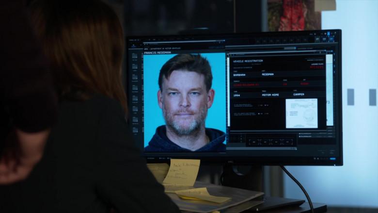 Dell Monitor Used by Jessica Alba as Nancy McKenna in L.A.'s Finest S02E08 (2)