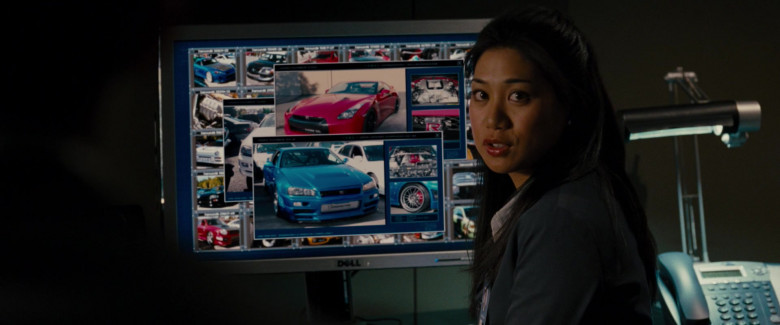 Dell Monitors Used by Liza Lapira as Sophie Trinh in Fast & Furious (2)
