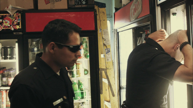 Diet Coke Refrigerator in End of Watch