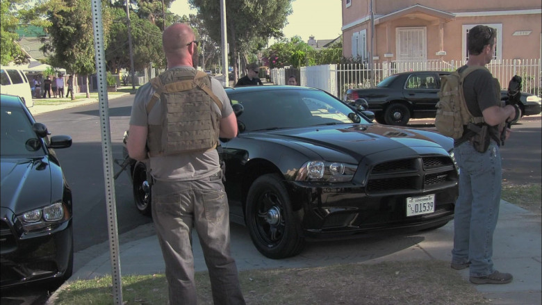 Dodge Charger Pursuit Black Car in End of Watch