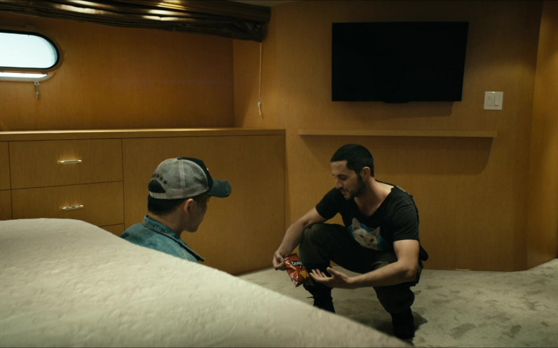 Doritos Chips Held by Tomer Kapon as Frenchie in The Boys S02E03