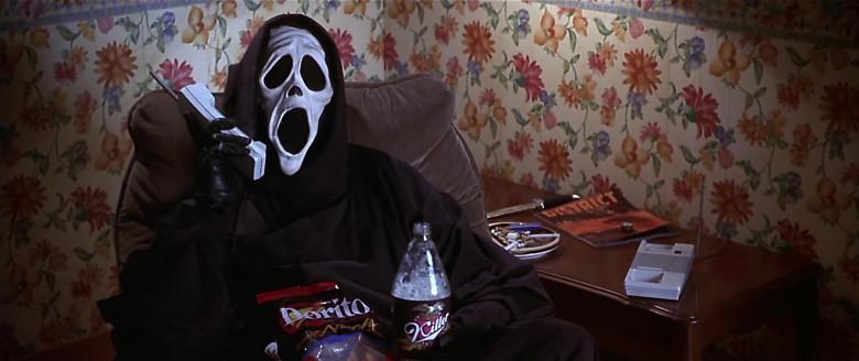 Doritos Nacho Chips of Dave Sheridan as The Killer in Scary Movie (2000)