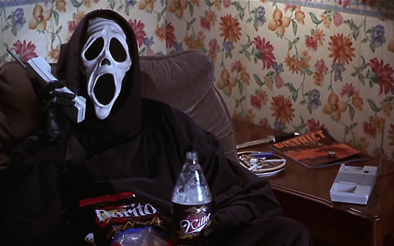 Doritos Nacho Chips of Dave Sheridan as The Killer in Scary Movie (2000)