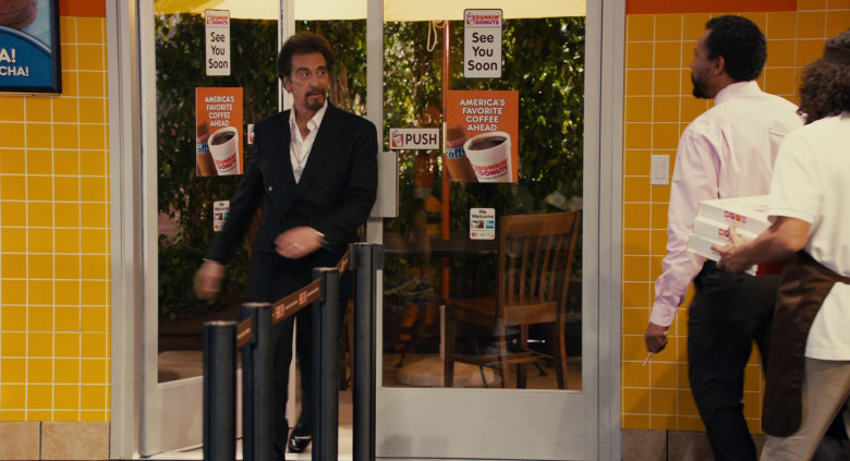 Dunkin' Donuts Restaurant Advertising Starring Al Pacino in Jack and Jill Movie (2)