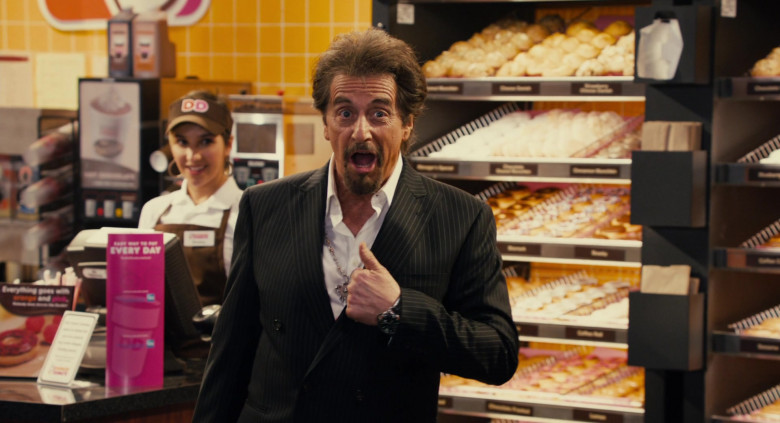 Dunkin' Donuts Restaurant Advertising Starring Al Pacino in Jack and Jill Movie (3)