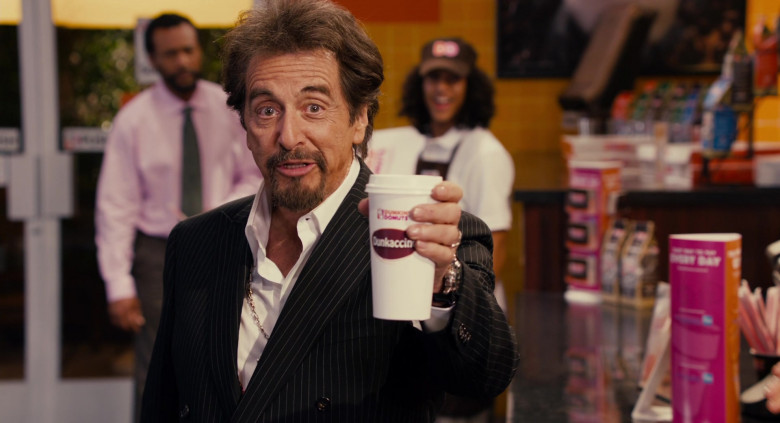 Dunkin' Donuts Restaurant Advertising Starring Al Pacino in Jack and Jill Movie (4)