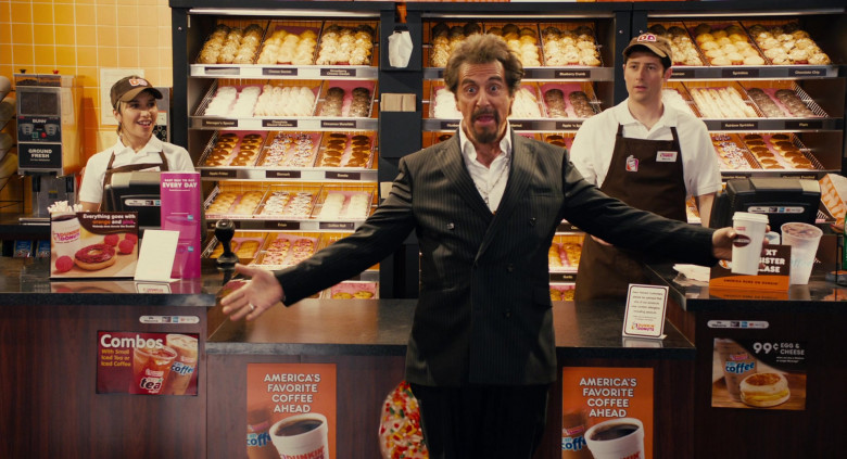 Dunkin' Donuts Restaurant Advertising Starring Al Pacino in Jack and Jill Movie (5)