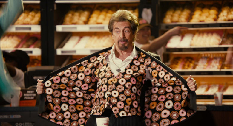 Dunkin' Donuts Restaurant Advertising Starring Al Pacino in Jack and Jill Movie (6)