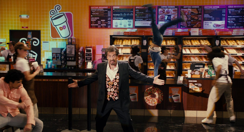 Dunkin' Donuts Restaurant Advertising Starring Al Pacino in Jack and Jill Movie (7)