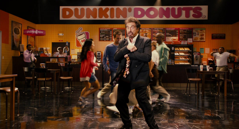 Dunkin' Donuts Restaurant Advertising Starring Al Pacino in Jack and Jill Movie (8)