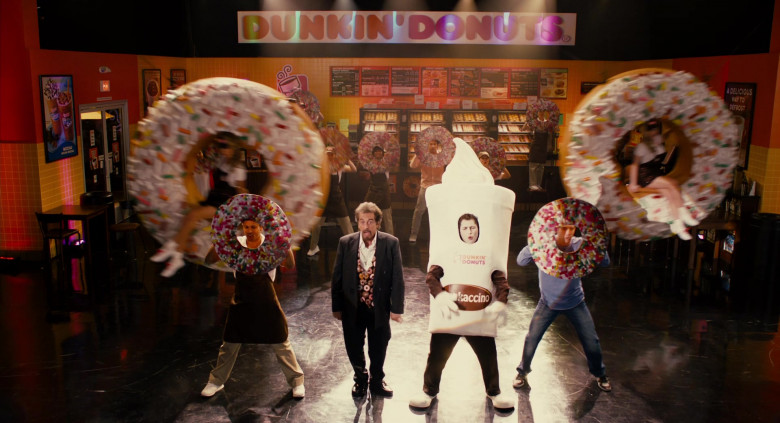 Dunkin' Donuts Restaurant Advertising Starring Al Pacino in Jack and Jill Movie (9)