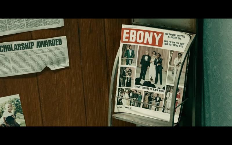 Ebony Magazine in Woke S01E01