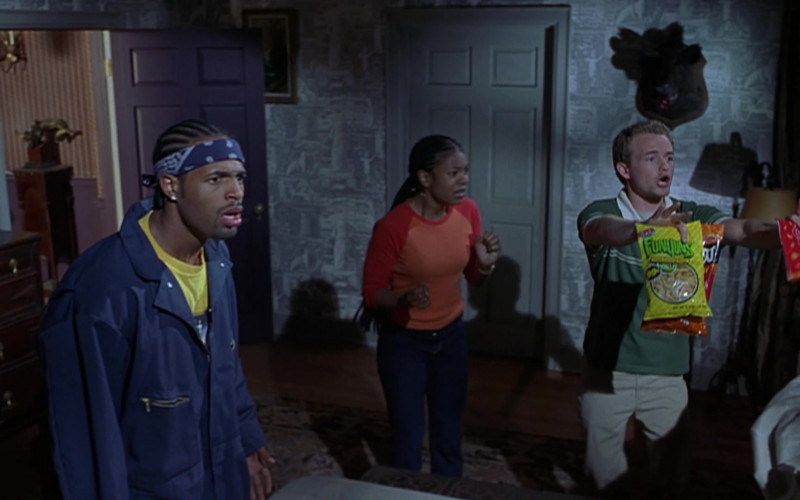FUNYUNS Onion Flavored Rings Held by Christopher Masterson as Buddy Sanderson in Scary Movie 2 (1)