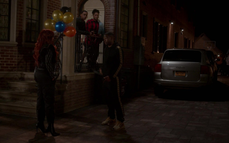 Fendi Hoodie and Sweatpants Outfit in Power Book II Ghost S01E01
