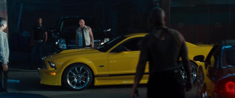 Ford Mustang GT 550R Tjaarda Yellow Car in Fast & Furious (1)