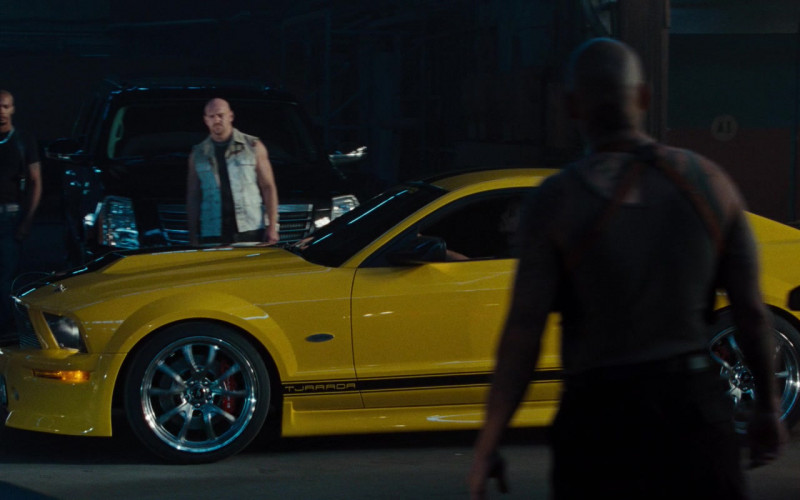 Ford Mustang GT 550R Tjaarda Yellow Car in Fast & Furious (1)