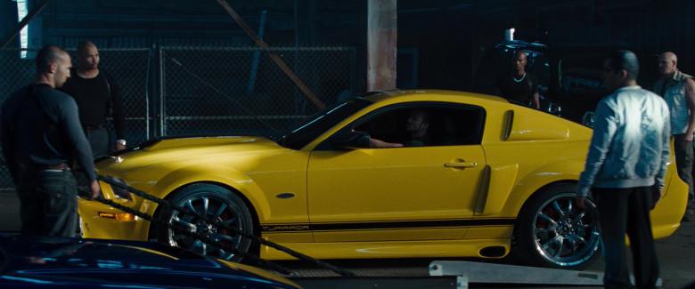 Ford Mustang GT 550R Tjaarda Yellow Car in Fast & Furious (2)