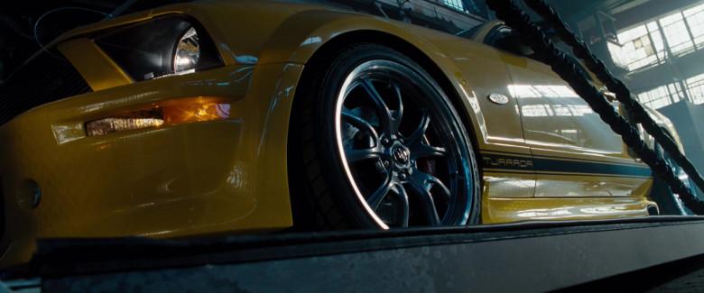 Ford Mustang GT 550R Tjaarda Yellow Car in Fast & Furious (3)