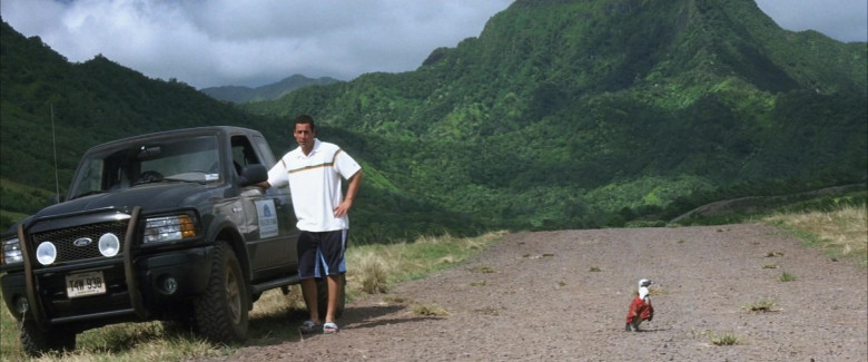 Ford Ranger Pickup Truck Car of Adam Sandler as Henry Roth in 50 First Dates Movie (2)