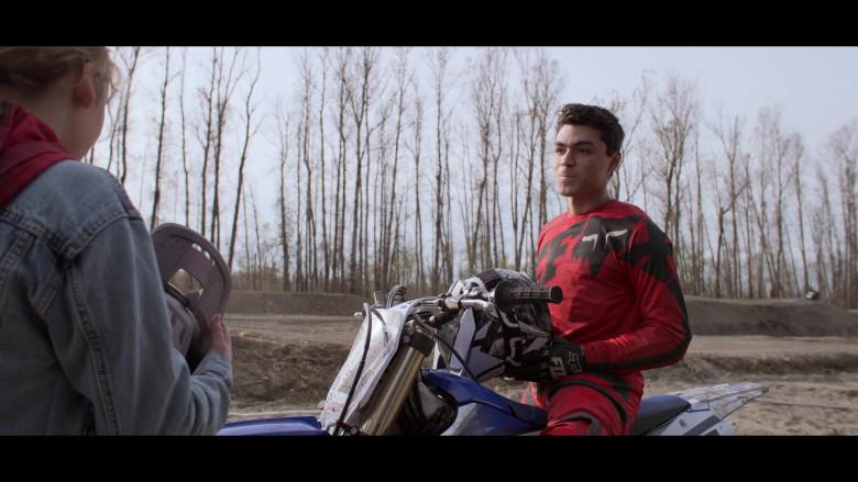 Fox Racing Motocross Gear of Adam Irigoyen as Isaac Rodriguez in Away S01E04 (1)