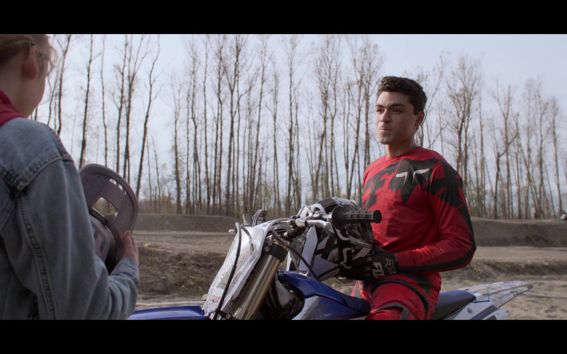 Fox Racing Motocross Gear of Adam Irigoyen as Isaac Rodriguez in Away S01E04 (1)
