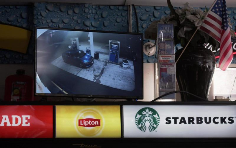 Gatorade, Lipton, Starbucks in L.A.'s Finest S02E07