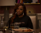 Givenchy Black Sweatshirt Outfit of Mary J. Blige as Monet S...
