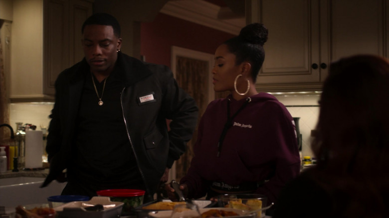 Givenchy Men's Jacket Outfit in Power Book II Ghost S01E02 (1)