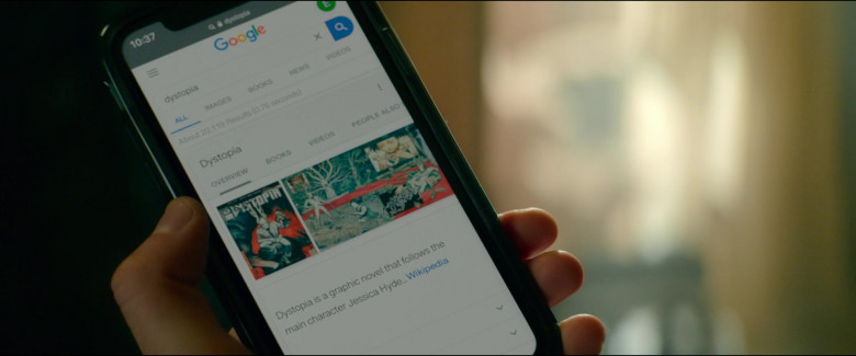 Google Web Search in Utopia S01E01 Life Begins (2020)