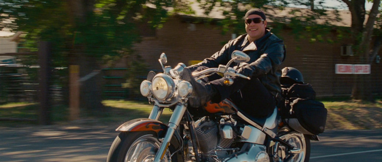 Harley-Davidson FLSTFSE Fat Boy Screamin Eagle Motorcycle of John Travolta as Woody Stevens in Wild Hogs (1)