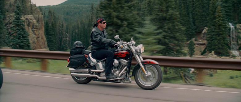 Harley-Davidson FLSTFSE Fat Boy Screamin Eagle Motorcycle of John Travolta as Woody Stevens in Wild Hogs (2)
