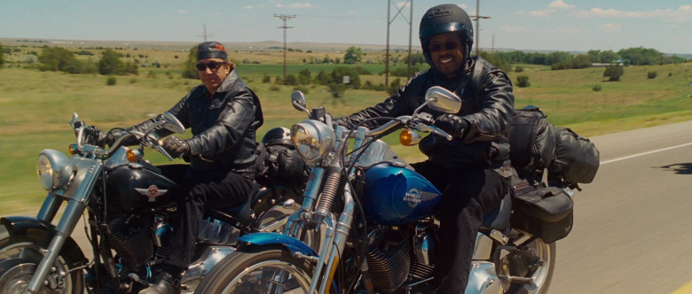 Harley-Davidson FXSTS Softail Springer Blue Motorcycle of Martin Lawrence as Bobby Davis in Wild Hogs (2)
