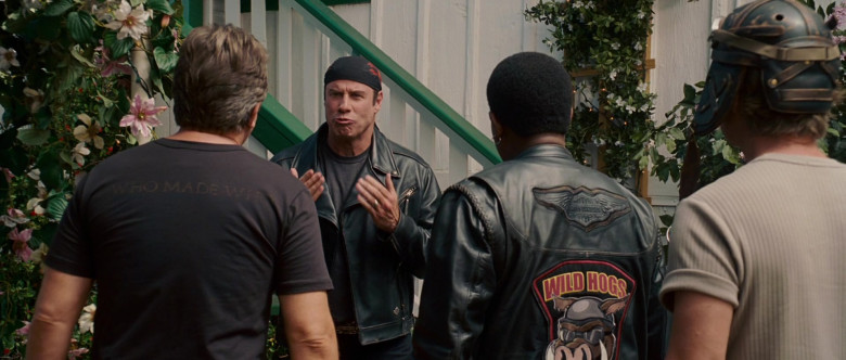 Harley-Davidson Leather Jacket of Martin Lawrence as Bobby Davis in Wild Hogs (1)