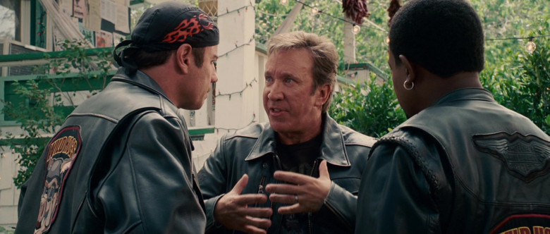 Harley-Davidson Leather Jacket of Martin Lawrence as Bobby Davis in Wild Hogs (2)