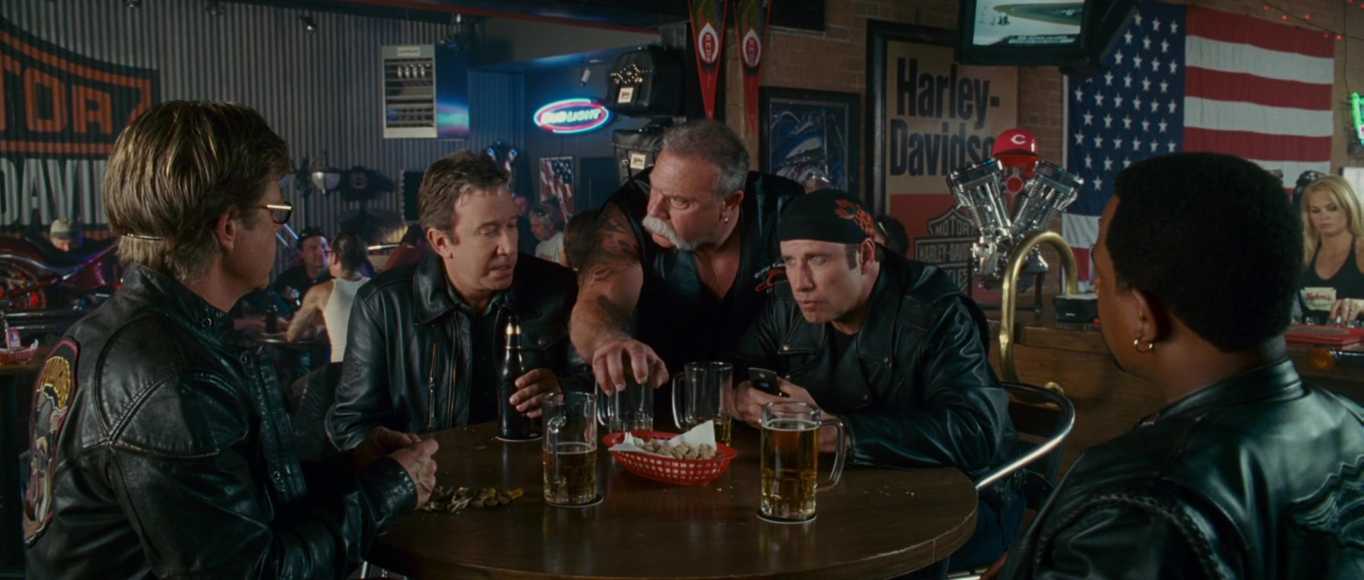 Harley Davidson Posters In Wild Hogs 2007