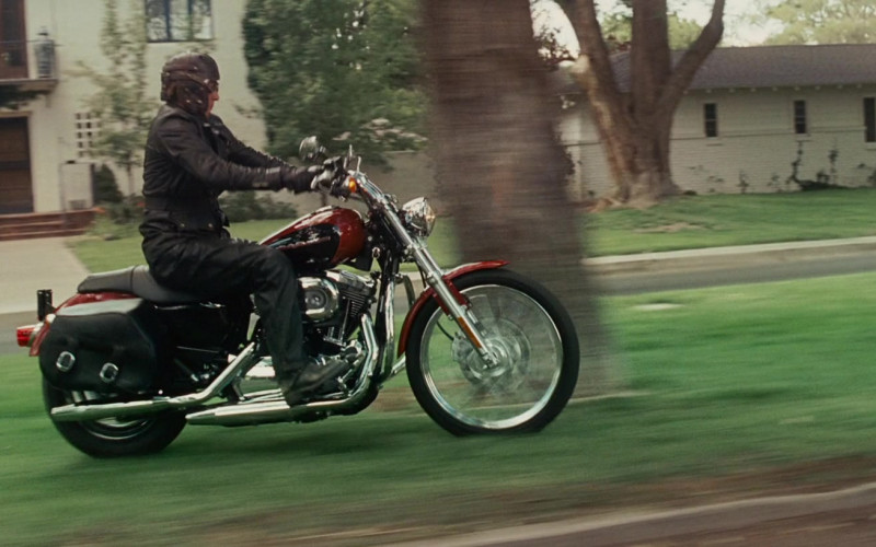 Harley-Davidson Sportster 1200 Motorcycle of William H. Macy as Dudley Frank in Wild Hogs (1)