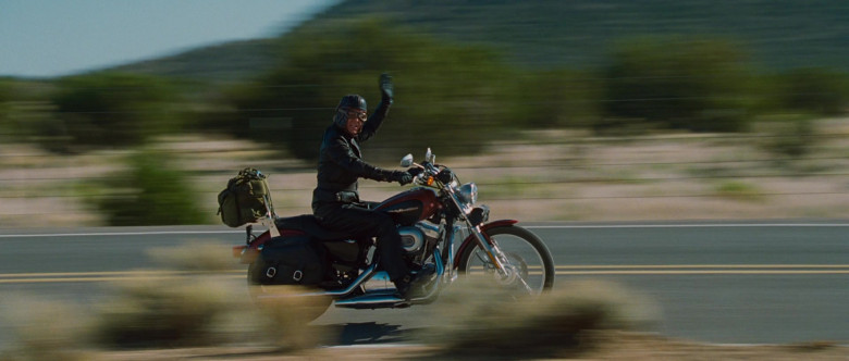 Harley-Davidson Sportster 1200 Motorcycle of William H. Macy as Dudley Frank in Wild Hogs (6)