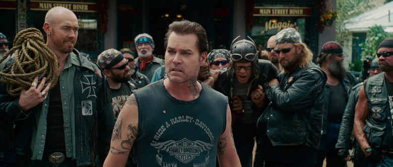 Harley-Davidson T-Shirt of Ray Liotta as Jack in Wild Hogs (7)