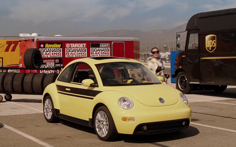 Havoline, Chip Ganassi Racing, Target, UPS in Herbie Fully Loaded (2005)